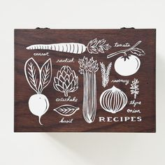 Heirloom Recipe Box by Rifle Paper Co.