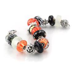 15-919 Trollbeads 2012 Halloween Bracelet
