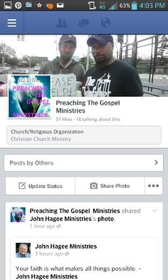 And we are on Facebook