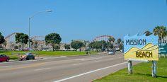 Mission Beach/ Belmont Park San Diego