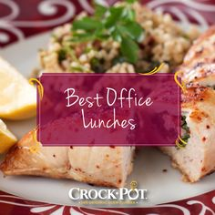 Make your lunch break worth looking forward to with these meal ideas!