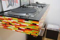 Lego DJ booth!