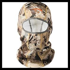 df89e95890f SITKA Gear Core Heavy Weight Balaclava Optifade Wat Marsh One Size Fits All Mens  Hunting Hat
