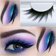 Vegas_Nay wearing her Sugarpill Toxic false eyelashes!