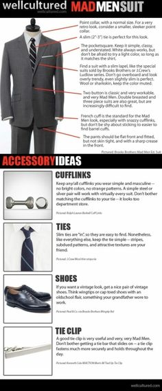 Every man should have a tie clip. | Raddest Looks On The Internet http://www.raddestlooks.net
