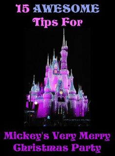15 Tips For Mickey's Very Merry Christmas Party - Couponing to Disney Disney World Christmas Party, Disney Christmas Parade, Mickeys Christmas Party, Disney Very Merry Christmas, Mickey Christmas, Christmas Travel, Christmas Vacation, Mickey Party, Christmas 2019