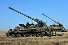 2S7 Pion 203 mm SPG Ukrainian Army Donbas War