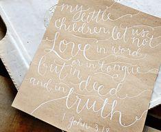 Custom Personalized Handwritten Wedding Vows by YourNewFriendSam