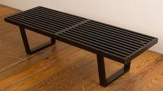George Nelson for Herman Miller Slat Bench : Lot 423