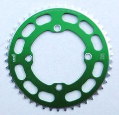 Chop Saw I Chainring 4 Bolt 104 bcd - 46T - GREEN ANODIZED