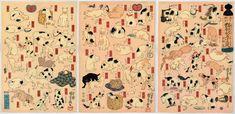Frizzifrizzi » Life of Cats: Selections from the Hiraki Ukiyo-e Collection