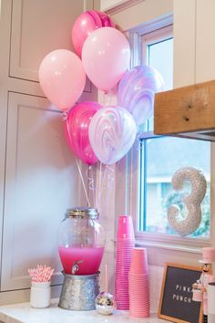 Pretty In Pink Party Pretty in pink birthday party for a any pink lover. This party post is full of whimsical party decor all things pink! More from my site Pretty in Pink Bat Mitzvah Birthday Party Birthday decor with Pink Balloon Garlands Kit Barbie Theme Party, Barbie Birthday Party, 13th Birthday Parties, Paris Birthday, 3rd Birthday, 7th Birthday Party For Girls Themes, 21st Birthday Ideas For Girls Turning 21, Baby Girl Birthday Theme, Birthday Ideas For Her