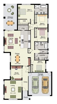 The Jagera 294 offers plenty of living space for a growing family.