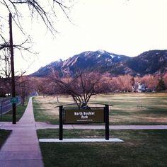 Boulder Colorado: The Flatirons