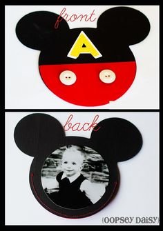 Cute invite idea... Could use it as picture handout for grandparents and other relatives