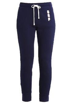GAP Jogginghose navy uniform Bekleidung bei Zalando.de | Material Oberstoff: 90% Baumwolle, 10% Polyester | Bekleidung jetzt versandkostenfrei bei Zalando.de bestellen!