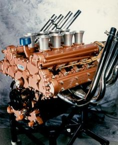 Auto Neurotic Fixation: Ford Quad Cam Indy Motor