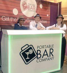 ARA 2015 Team Shot Portable Bar Company Trade Show Booth