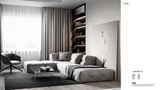 "Modern Apartment ""Sunset"" 2018 on Behance"