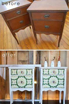 DIY Interior Decorating, DIY Furniture Makeovers