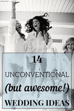 Your wedding could use a dose of personality! Check out these 14 unconventional (BUT AWESOME) wedding ideas! Friend Wedding, Wedding Wishes, Wedding Pics, Wedding Ceremony, Our Wedding, Dream Wedding, Wedding Stuff, Wedding Readings, Wedding Entrance