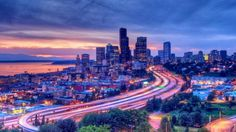 sunset in the city - (#39911) - HD Wallpapers - Nature HQ Wallpapers on WallsInHD.com