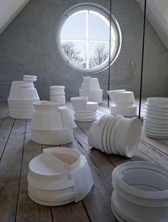 Bodil Manz and Bente Skjøttgaard: Cuts and Interventions, Copenhagen Ceramics2 – 25 February 2012.