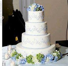 Hydrangea cake #2