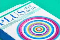 Plus Gum — The Dieline - Branding & Packaging