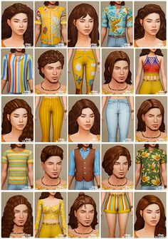 simstrouble: Here you can find all my CC. 23... - TS4MM Finds