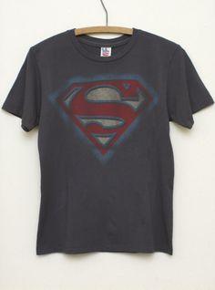 Kids Boys Superman Logo Solid Tee - Kid's Boys Tops - All - Junk Food Clothing