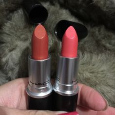 Authentic mac lipsticks 2 for $26 New in box ( color / meltdown and costa chic ) check my feedback before purchase all my make up is authentic. Thanks for looking and happy shopping MAC Cosmetics Makeup Lipstick