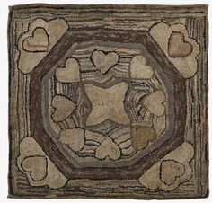 Hooked rug about 1910