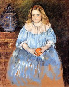 Mary Cassatt - Portrait of Margaret Milligan Sloan