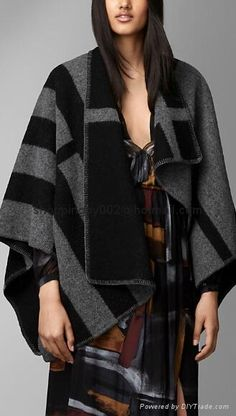 www.diytrade.com/china/pd/12832423/Burberry_Prorsum_Check_Wool_and_Cashmere_Blanket_Poncho_House_Check_Cape_Classic.html