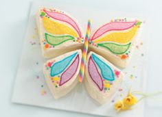 Butterfly Birthday Party Ideas from bettycrocker.com -- recipe, decoration and activity ideas