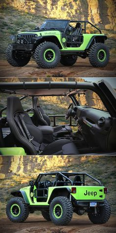 Take the Hellcat's Drop it in an Off-Road Vehicle, and You Get the Jeep Wrangler Trailcat Auto Jeep, Jeep 4x4, Cj Jeep, Jeep Truck, Moab Jeep, Suv Trucks, Diesel Trucks, Wrangler Jeep, Custom Jeep