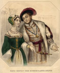 Anne Boylen and Henry The Eighth