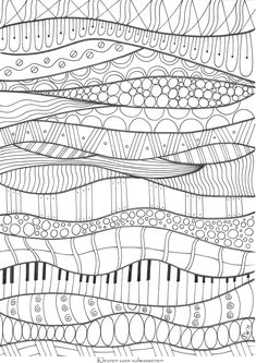 ≡ coloring page...ADULT COLORING BOOK PAGESMore Pins Like This At FOSTERGINGER @ Pinterest