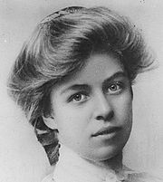 Eleanor Roosevelt - The young girl whose mother told her she wasn't pretty so she would never land a husband. She went on to become a driving influence for good in the mid 1900s. Where would FDR have been without her?