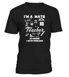 Math Teacher Shirt