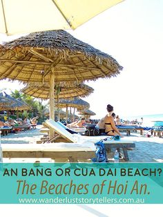 An Insanely Awesome day Relaxing on Hoi An Beach - An Bang and Cua Dai Beach - love both!