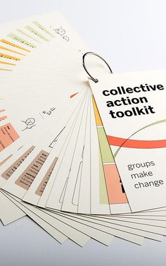 Collective Action Toolkit  http://www.frogdesign.com/work/frog-collective-action-toolkit.html