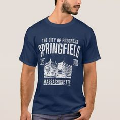 Springfield T-Shirt - retro clothing outfits vintage style custom