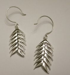 Sterling Silver Earrings from Willow & Wheat by serenavr on Etsy