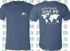 fundraiser for mission trip. Team Shirts, Youth Group Shirts, Mens Travel, Travel Shirts, Mission Trip Quotes, Mission Trips, The Help, Shirt Designs, Shirt Ideas