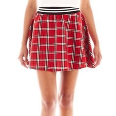 Almost Famous Plaid Skater Skirt   found at @JCPenney