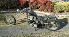 1973 Honda CB750E Old School Chopper