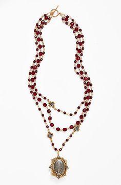 Virgins Saints & Angels 'Magdalena - Sacred Heart' Necklace (Nordstrom Exclusive) available at #Nordstrom