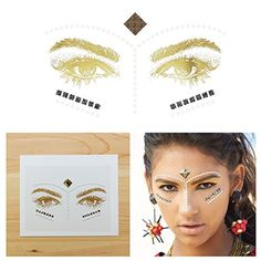 Tattify Face Jewels, Earth Tribal (Set of 1) *** For more information, visit image link.